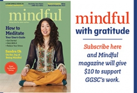 Mindful with gratitude