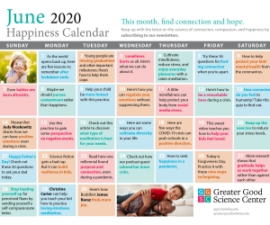 Keep Up with Our Resilience Calendar!