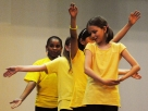 The Changing Worlds arts and literacy program encourages children to learn about other cultures through dance and other performing arts.