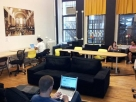 The Wix Lounge in New York City.