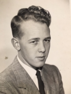 Jill's father as a young man.