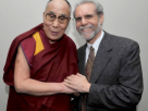The Dalai Lama and Daniel Goleman