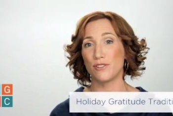 Holiday Gratitude Traditions