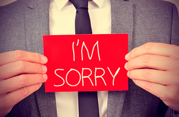 The Three Parts of an Effective Apology