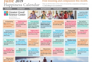 Your Happiness Calendar for June 2019