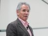 "The Greater Good Science Center also popularizes the science of a meaningful life through conferences and seminars that feature researchers like Jon Kabat-Zinn, here speaking at the ""Practicing Mindfulness and Compassion"" conference in March."