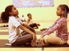 Students engaging in SEL at a program run by the <a href=&#8220;http://www.hlfinc.org/programs.htm&#8221;>Holistic Life Foundation</a>.