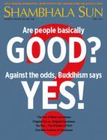 This essay originally appeared (in slightly different form) in the <a href=&#8220;http://www.lionsroar.com/are-people-basically-good/&#8221;>May 2015 issue</a> of <em>Shambhala Sun</em>. <a href=&#8220;http://www.wheresmymagazine.com/#bipad=83588&#8221;>Find a copy</a> of the magazine near you, or <a href=&#8220;https://subscribe.pcspublink.com/sub/subscribeform.aspx?t=JLRSB2&amp;p=SSUN&#8221;>subscribe now</a>.