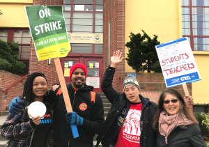 "In April and March of this year, Oakland teachers <a href=""https://greatergood.berkeley.edu/article/item/oakland_teachers_strike_for_meaning_not_just_money"">went on strike</a> for better working conditions."