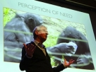 Frans de Waal: Like humans, along with aggression, chimps' behavior includes reconciliation, empathy and consolation.