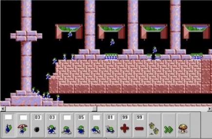 Research suggests that games like <i>Lemmings</i>, where the goal is to help others, inspire real-life acts of altruism.