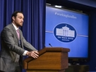 New York Mets second baseman Daniel Murphy speaks during a June 9 event on working fathers at the White House.
