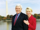 Newt Gingrich and his current wife, Callista.