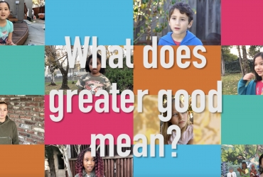 "What Does ""Greater Good"" Mean?"