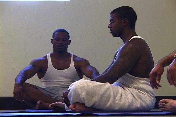 Prisoners-meditating