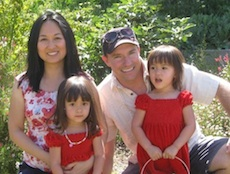 "Andy Hinds with wife, Thao P. Tran, and their twins. Dads today are &#8220;in the sweet spot as far as expectations,"" says Andy, who writes the blog <a href=&#8220;http://www.betadadblog.com/&#8221;>Betadad</a>."