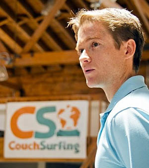 CouchSurfing co-founder Casey Fenton.