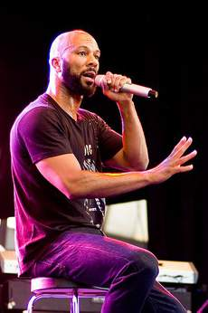 The rapper Common