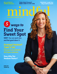 "This essay originally appeared on the <a href=""http://www.mindful.org"">website</a> of <em>Mindful</em> magazine, which this month features GGSC senior fellow and <em>Sweet Spot</em> author Christine Carter on the cover. <a href=""http://www.mindful.org/mindful-magazine/june-2015-issue"">Learn more!</a>"