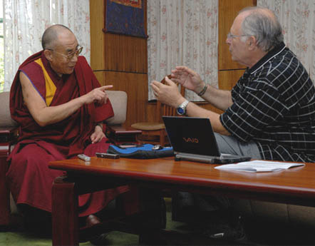 The idea for the Cultivating Emotional Balance program grew out of discussions between the Dalai Lama and Western scientists, including psychologist Paul Ekman (right).