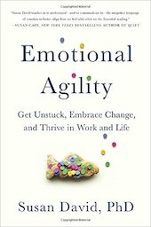 <a href=&#8220;http://amzn.to/2iNMOfR&#8221;><em>Emotional Agility: Get Unstuck, Embrace Change, and Thrive in Work and Life</em></a> (Avery, 2016, 288 pages)