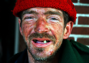 Within a moment of seeing a photograph of an apparently homeless man, people's brains set off a sequence of reactions characteristic of disgust and avoidance.