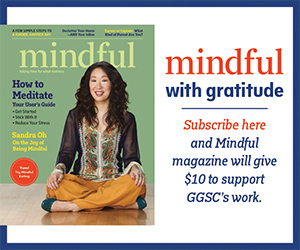 Mindful with gratitude. subscribe here.