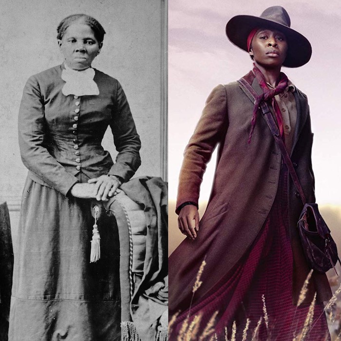 Historical and Movie Harriet Tubman