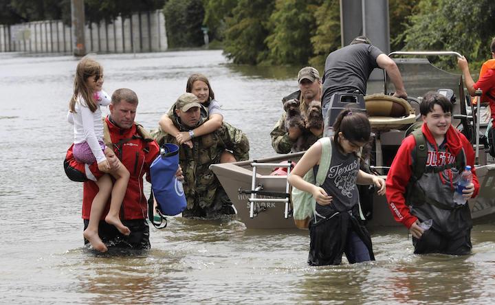 Houston rescuers