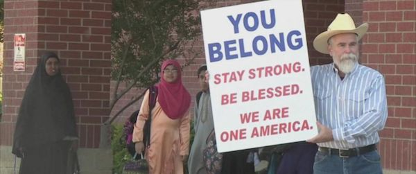 Texas man stands up for Muslim neighbors
