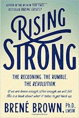 Read <a href=&#8220;http://greatergood.berkeley.edu/article/item/how_to_move_beyond_pain&#8221;>our review</a> of <em>Rising Strong</em>.