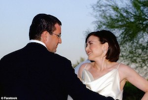 Sheryl Sandberg and her husband, Dave Goldberg.