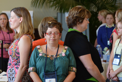 Participants at the GGSC's Summer Institute for Educators
