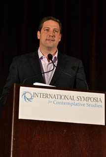 Congressman Tim Ryan (D-Ohio), author of <i>A Mindful Nation</i>, offered closing remarks at ISCS.