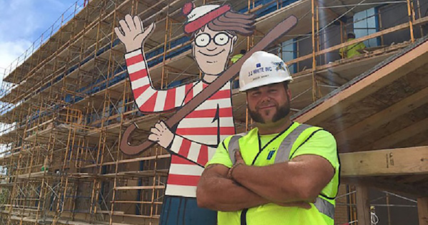 Where's Waldo - Construction Workers
