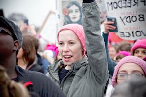 The Women's March on Washington following President Donald Trump's inauguration