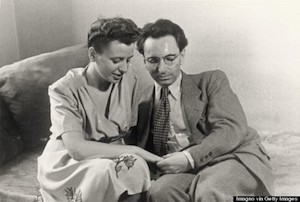 Frankl and his wife Tilly before the war.