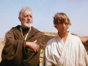 Obi-Wan Kenobi and Luke Skywalker.