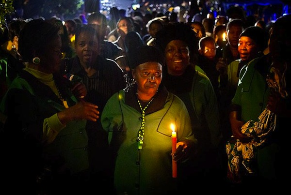 Mandela-mourning